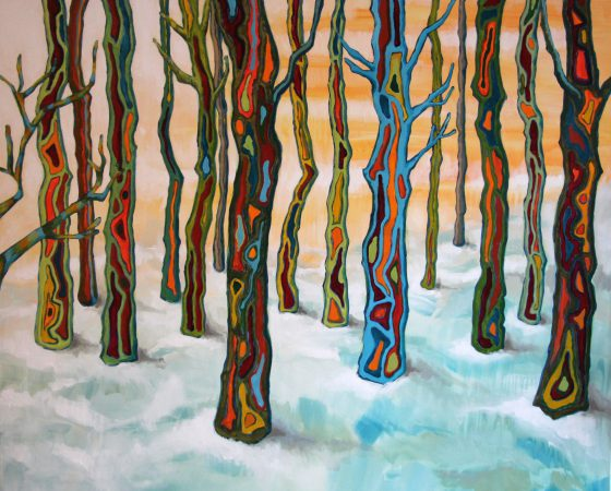 Colorfull snow (2016) – Sold
