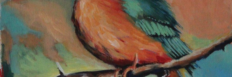 Blue Bird meets orange (2001)