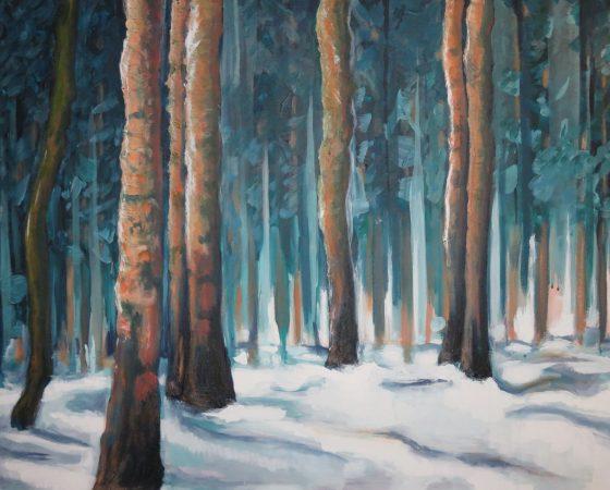 Winter Blue (2015) – Sold